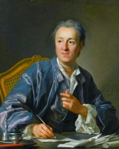 Denis Diderot *oil on canvas *81 x 65 cm *signed: L. M. Van Loo / 1767